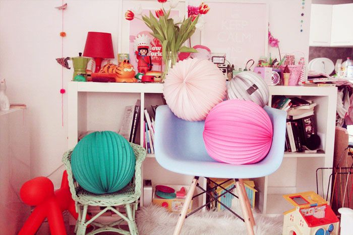 honeycomb ball, home decor, lamion, girly, Chinese lantern