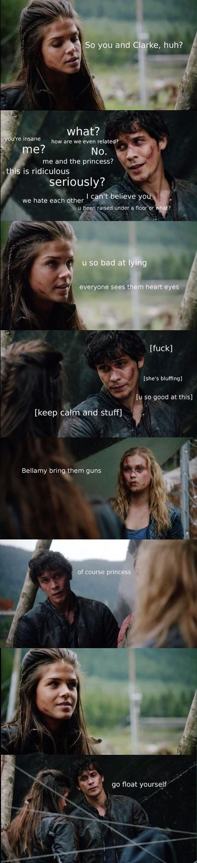 The 100 Recap || Bellamy Blake, Octavia Blake and Clarke Griffin || Bellarke || Bob Morley, Marie Avgeropoulos and Eliza Jane Taylor: