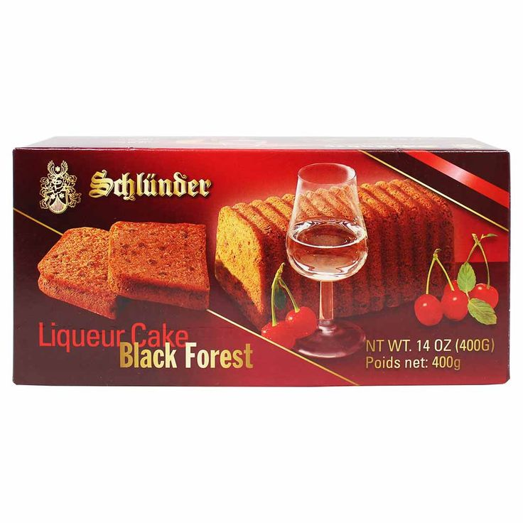 Schlunder Black Forest Cherry Liqueur Cake 14 oz. (400 g)