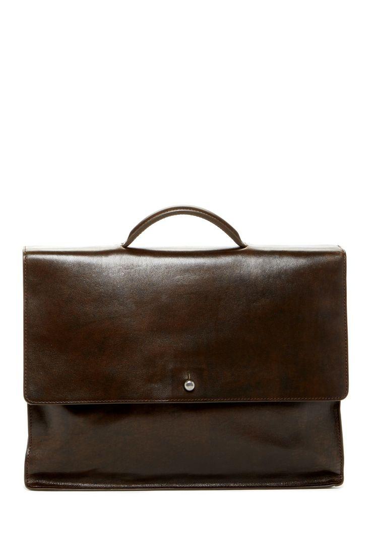 John Varvatos Collar Stud Briefcase