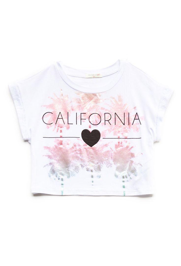 California Love Graphic Tee (Kids) | FOREVER21 girls - 2000121318