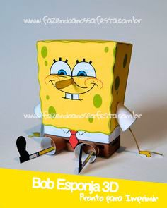 69 best bob esponja images on pinterest razor cut bob bob esponja 3d pronto para imprimir e montar sponge bobpaper toyspapercraftideas para fiestasinvitationsdo it yourselfspongebobfriendspaper crafts solutioingenieria Gallery