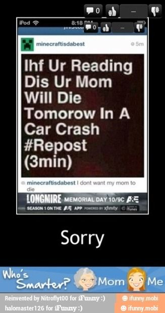 Sorry / iFunny :)