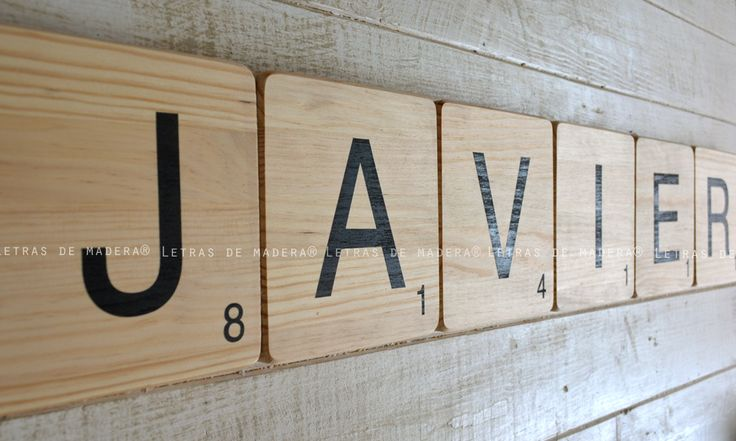 M s de 25 ideas incre bles sobre letras de scrabble en pinterest scrabble letters for crafts - Letras scrabble madera ...