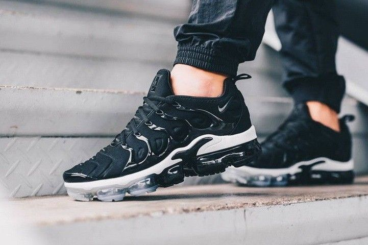19a620a725 Nike Air Vapormax Plus - Black, White & Anthracite Exclusive Trainers All  Sizes #Nike #Lifestyle