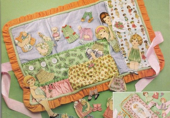7 Best Fabric Paper Dolls Images On Pinterest Windham