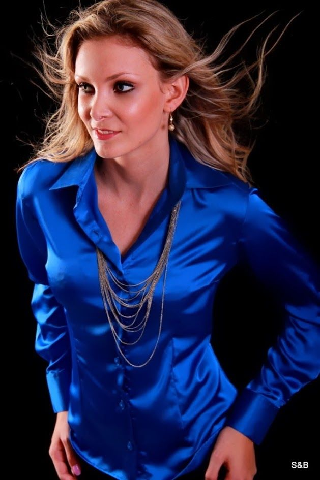 Find blue satin shirt at ShopStyle. Shop the latest collection of blue satin shirt from the most popular stores - all in one place.