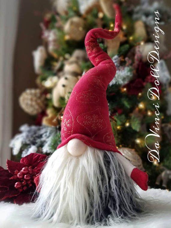 Décoration scandinave élégant Noël Gnome suédoise Vintage
