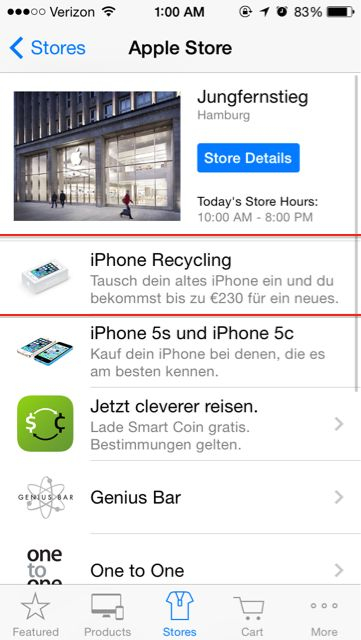 Apple launches iPhone trade-in program in German retail stores, offers big savings on new iPhones