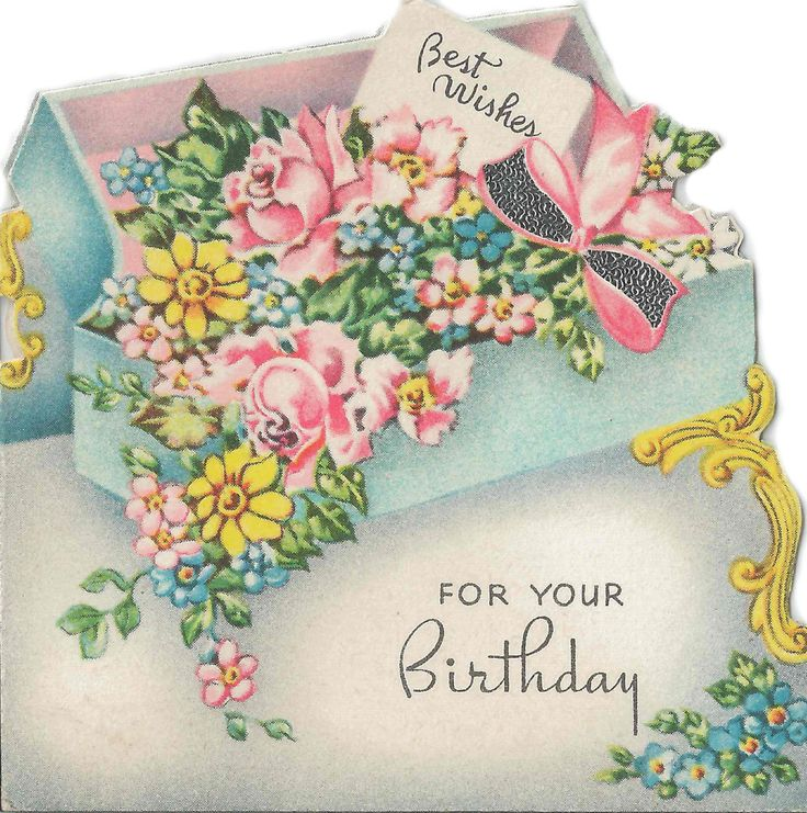 107 best Vintage Birthday Cards images – Birthday Card Collection