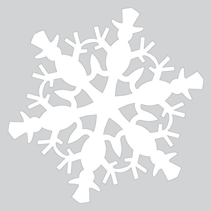 Best 25+ Cut out snowflakes ideas on Pinterest Snowflake cut out - snowflake template