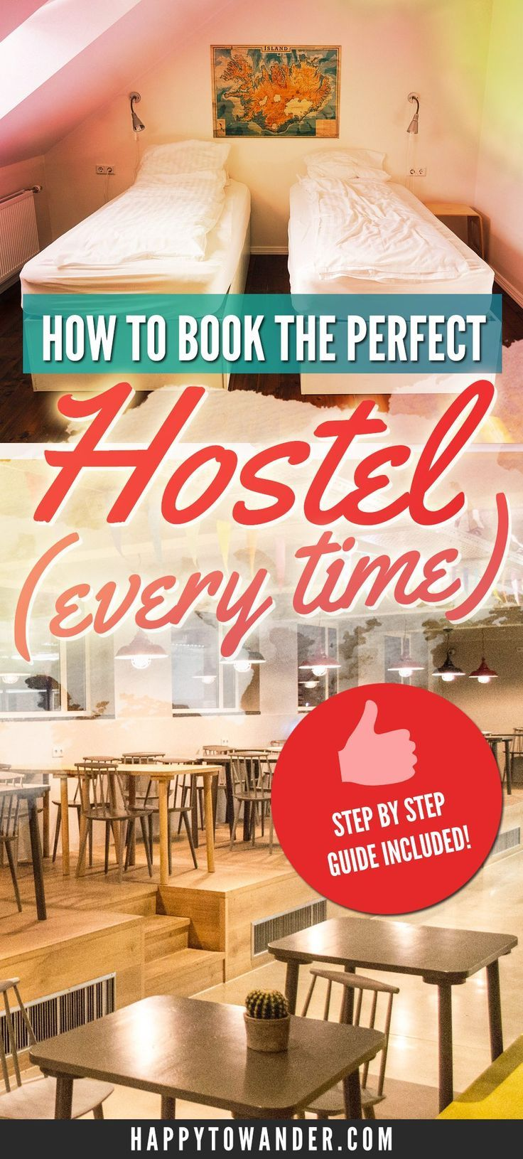 Awesome, in-depth guide to booking the perfect hostel every time! This post details everything you need to know before you book a hostel, to ensure that you have the best possible experience. A must-pin for anyone who is new to hostel life!