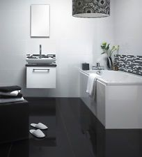 Best Ideas For The House Images On Pinterest Modern Bathrooms - Grey bathroom tiles bq 2