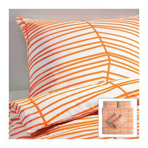 ÖDESTRÄD Quilt cover and 4 pillowcases - 240x220/50x80 cm  - IKEA