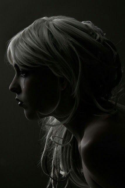 Silent tears ..