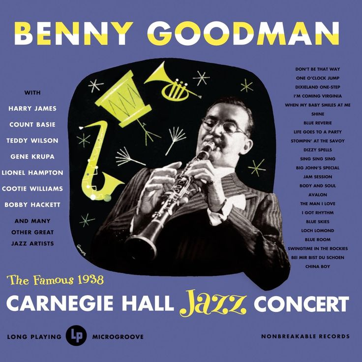 The famous 1938 Carnegie Hall Concert