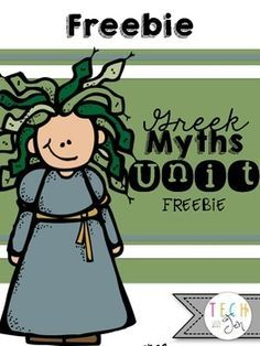 Freebie: This is a sample of my 97 page unit about Greek Myths called It's All Greek to Me for third, fourth or fifth grade students. Students will enjoy this Greek mythology unit to learn how stories of the past influence our life of today? Your students will love investigating this question through close reading and exploring Greek myths through discussion and project activities.Other folktale units include:Fairy Tale Unit: Cinderella Stories from Around the WorldTall Tales UnitFables Unit