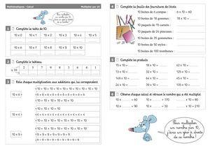 Résolution de problèmes CE2 ♦ Addition, soustraction ou multiplication ? ~ Cartable d'une ...