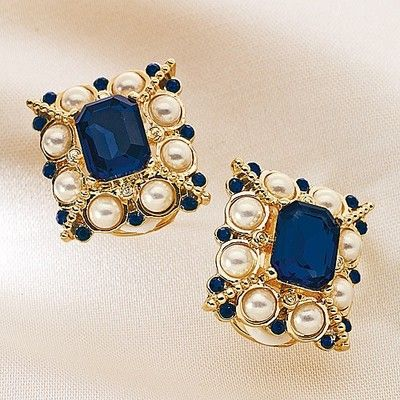 Museum Selection Coello Portrait Earrings