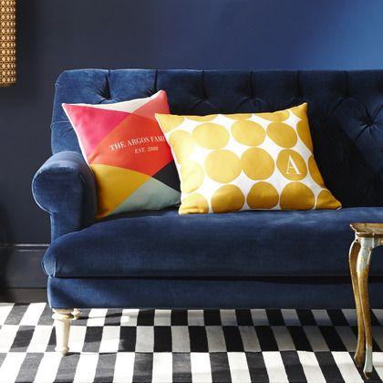 Buffalo Bold - Custom Pillows - Petite Alma - Winterberry - Red : Front