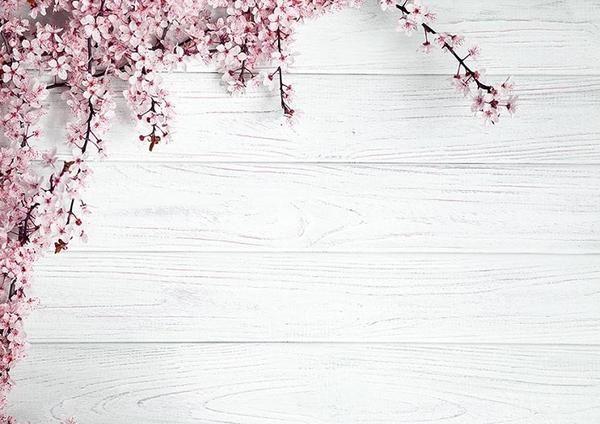 White Wood Backdrop With Plum Flower Flower Background Wallpaper Wallpaper Pc Vintage Flowers