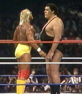 Hulk Hogan vs André El Gigante
