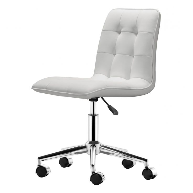 31 best white rolling desk chair images on pinterest office desk chairs desk chairs and. Black Bedroom Furniture Sets. Home Design Ideas