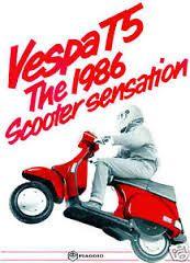 Image result for vespa t5