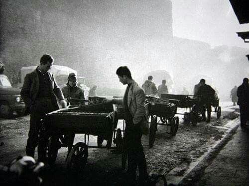 Αγορά,Γιάννενα,1958.... Φωτ.Κώστας Μπαλαφας.