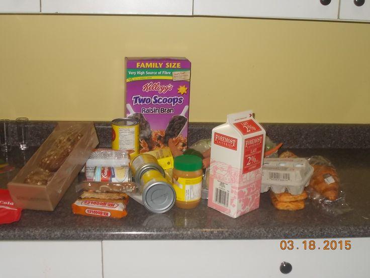 Food Hamper for Arlene new client Surrey