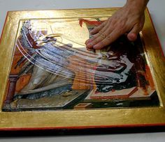 Olifa – Linseed Oil Varnish for the Egg Tempera Icon — Saint Gregory of Sinai Monastery + + + Κύριε Ἰησοῦ Χριστέ, Υἱὲ τοῦ Θεοῦ, ἐλέησόν με τὸν + + + The Eastern Orthodox Facebook: https://www.facebook.com/TheEasternOrthodox Pinterest The Eastern Orthodox: http://www.pinterest.com/easternorthodox/ Pinterest The Eastern Orthodox Saints: http://www.pinterest.com/easternorthodo2/