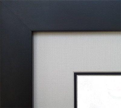 Tribeca Executive Diploma Frame with Genuine Linen Matting alternate image