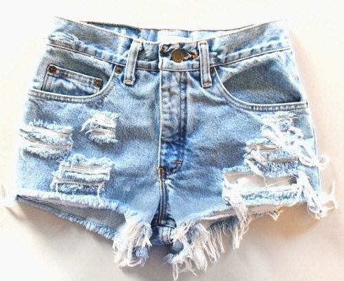 Original Wash Ripped High Waisted Levis by BohoChildGarments, $45.00