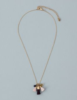 Short Tassel Necklace Boden
