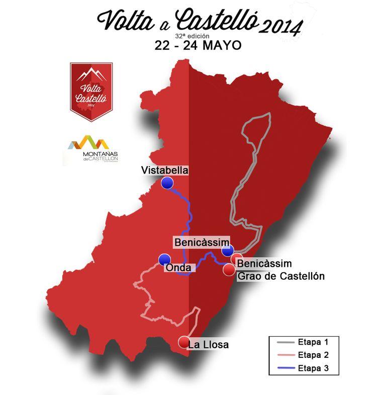 Volta a Castelló: Recorrido