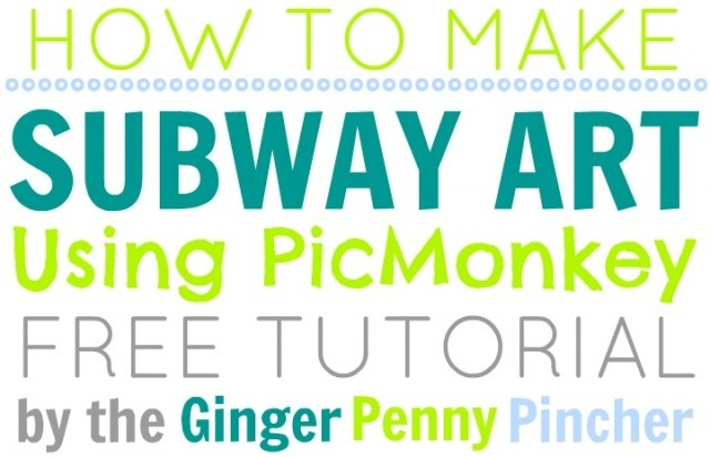 subway art tutorial
