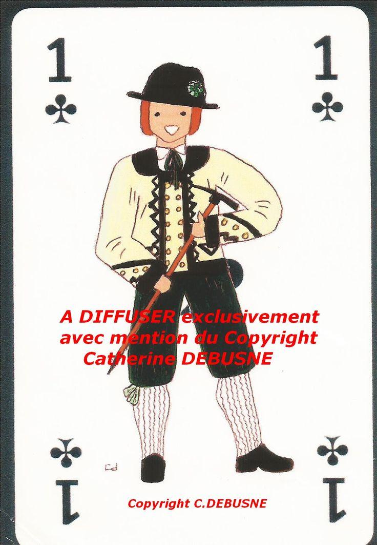 Projet de jeu de cartes. J'ai des dessins de tous les départements. Recherche partenaires commerciaux