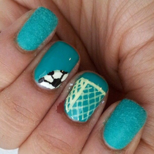 Best 25+ Soccer nails ideas on Pinterest