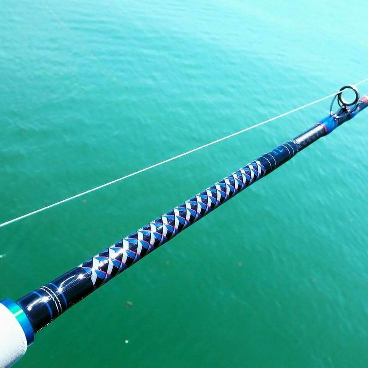 17 best images about fishing rod designs on pinterest for Custom fishing poles