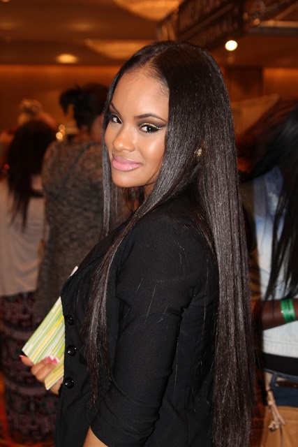Best 25 Long Relaxed Hair Ideas On Pinterest Relaxed