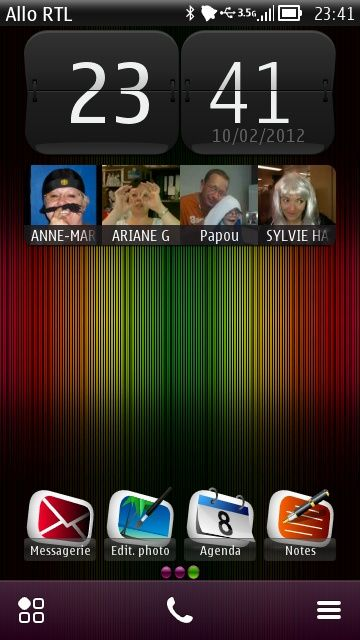 Free colourful lines theme by sevimlibrad on Tehkseven
