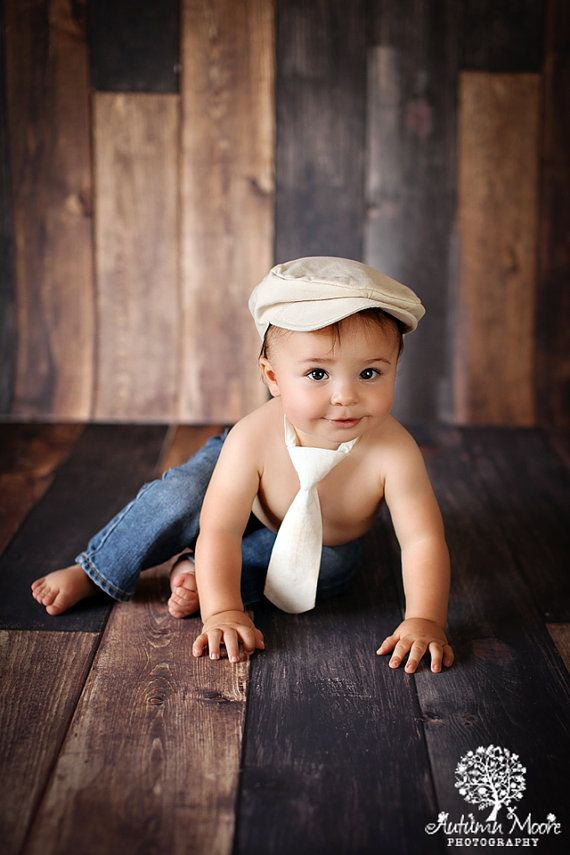 Allen Ivory Photography Prop Neck Tie 3-24 Months - Baby ...