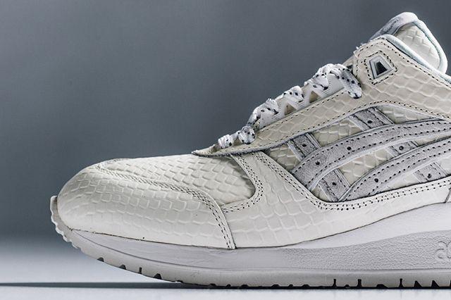 ASICS GEL RESPECTOR (WHITE MAMBA) - Sneaker Freaker