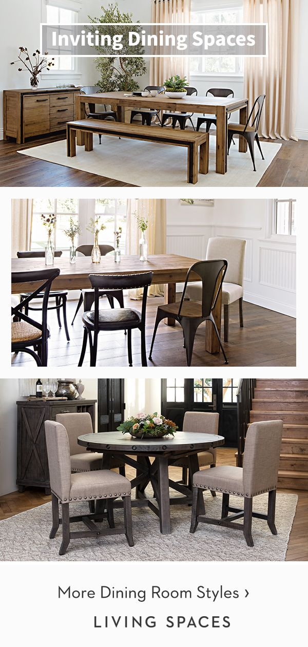 Warm Rustic Dining Rooms Dining Tables Chairs And Sets To