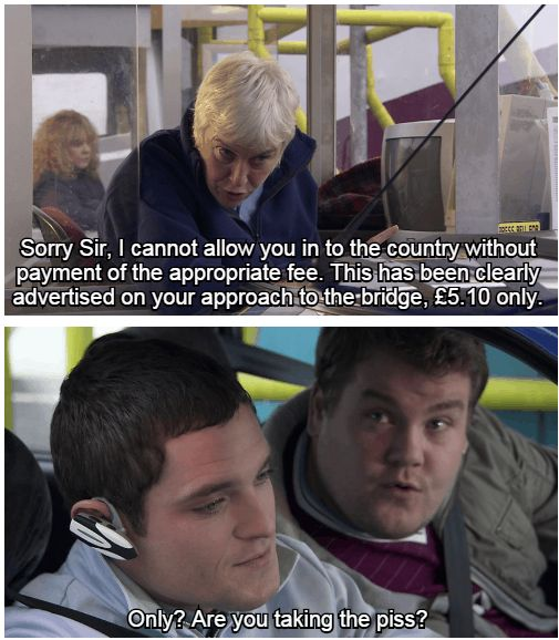 "When Smithy was all of us crossing the border. | 29 Times ""Gavin And Stacey"" Was Actually Fucking Hilarious"