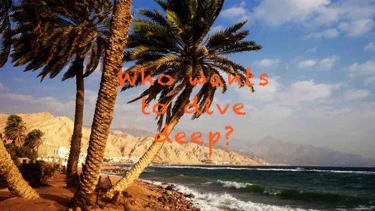 Tauchen in Dahab - Paradies am Roten Meer. Tipps für Deinen Tauchurlaub in Dahab plus ein Interview mit der Gründerin des ersten Co-Working Spaces am Roten Meer.