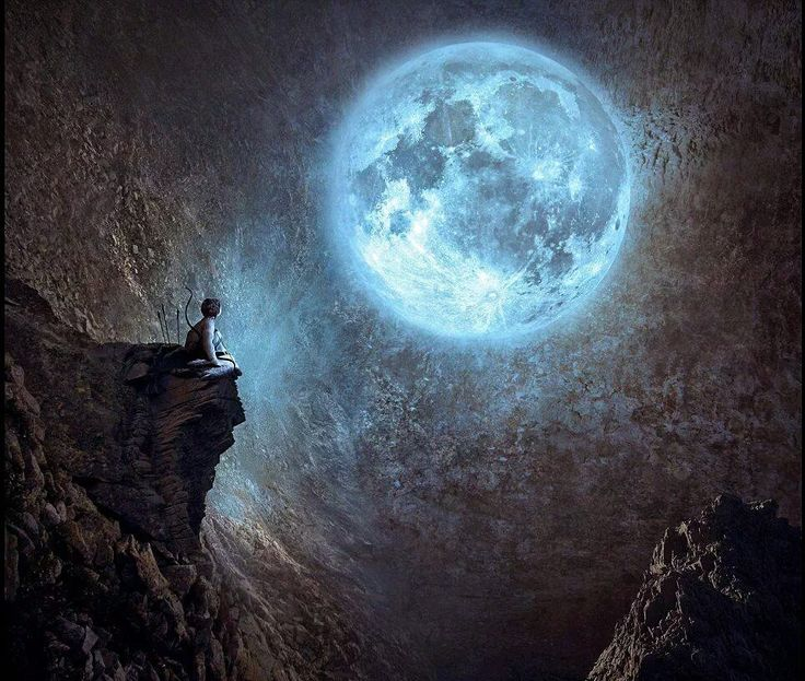 всего луна человек фото картинка ревербератор кажется