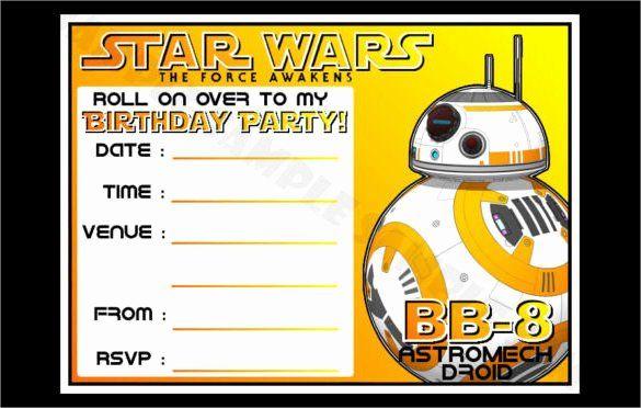 Star Wars Invitation Templates Lovely 20 Star Wars Birthday Invitation Template Wo Star Wars Invitations Star Wars Birthday Party Star Wars Birthday Invitation