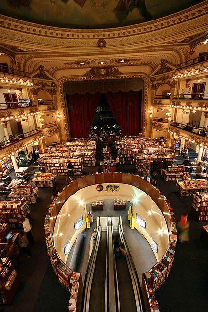 El Ateneo bookstore - Buenos Aires, Argentina