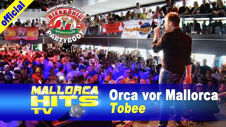 """Tobee live mit """"Orca vor Mallorca"""" auf dem Peter Wackel Bierkönig Partyboot 2014 in Köln. http://mallorcahitstv.de/2014/09/tobee-orca-vor-mallorca-partyboot-2014/"""